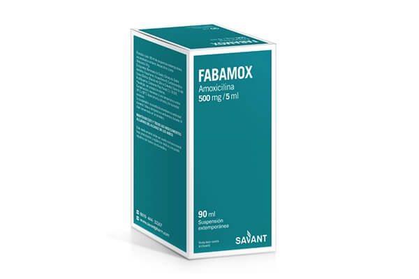 Fabamox solución oral